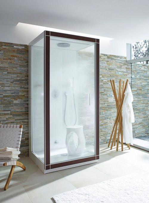 Love This Open Bright Bathroom With A Steam Shower Www Steamshowersinc Com Shower Cabin Steam Shower Cabin Steam Showers