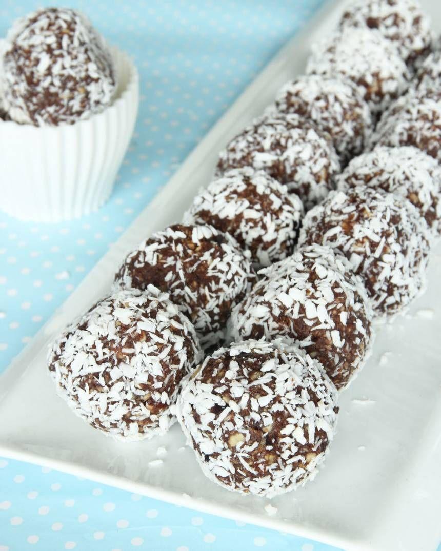 nyttiga chokladbollar utan socker