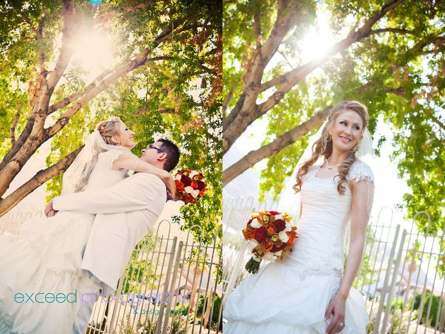 Wedding Portrait Session at Las Vegas Nevada LDS (Mormon) Temple ...