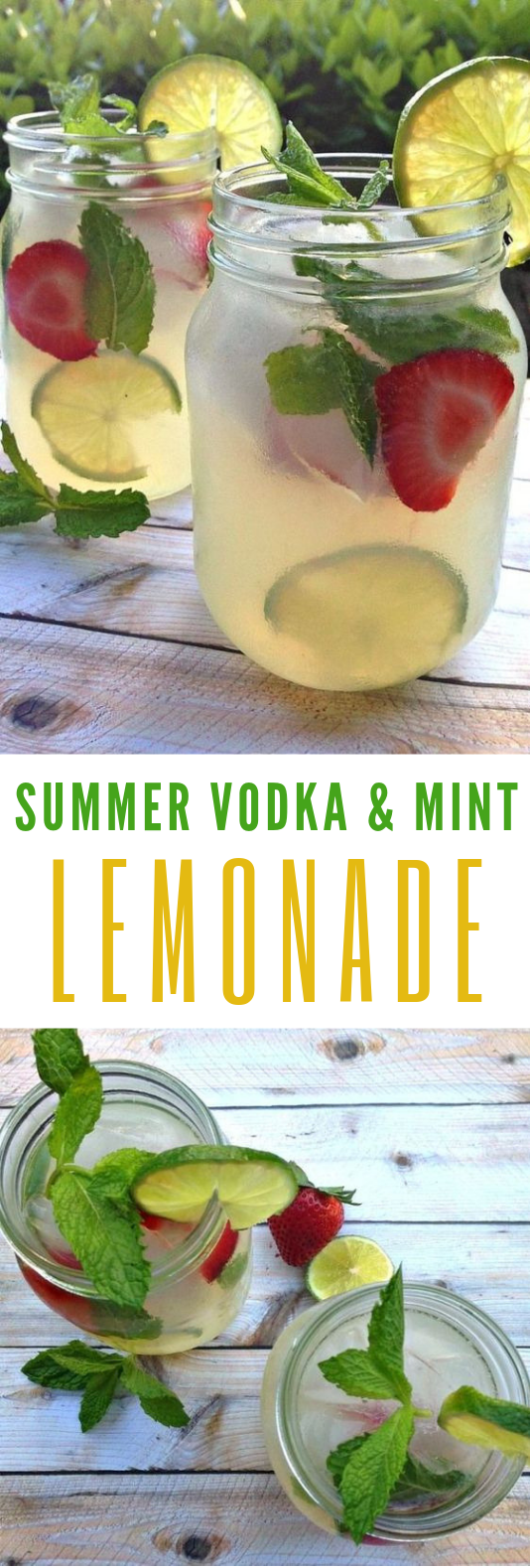 Refreshing Summer Drinks: Vodka Mint Lemonade Cocktail With Stoli #Cocktail #SummerDrinks #refreshingsummerdrinks