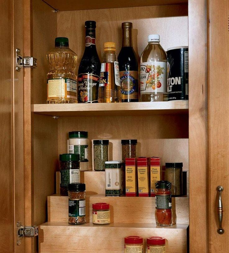 Image result for kraftmaid spice storage   Kraftmaid ...