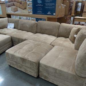 Elegant 9 Piece Modular Sectional Sofa