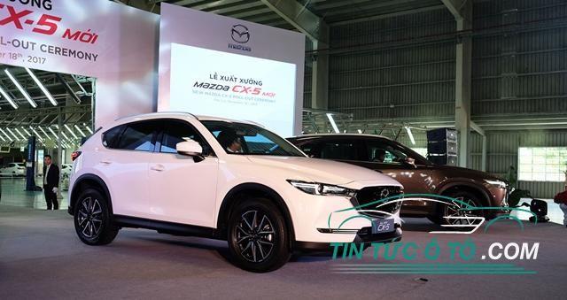 Mazda CX-5 2018 chính thức ra mắt khách hàng Việt, giá rẻ hơn CR-V