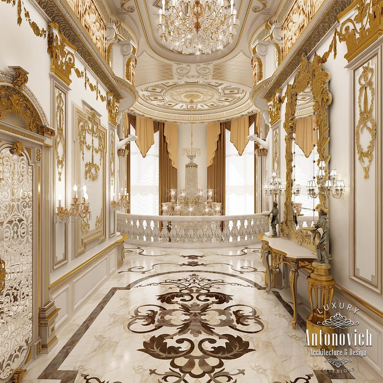 Villa interior design in dubai luxury residential villas for Luxury interior design dubai