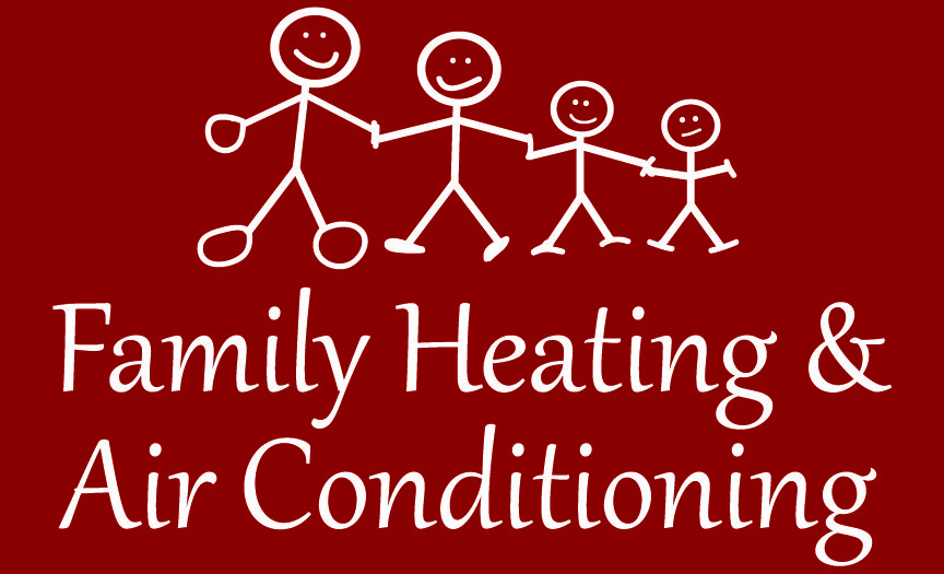 Family Heat And Air Logo Heating And Air Conditioning Neon