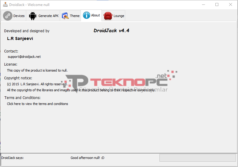 DroidJack 4 4 Full Cracked -4- | teknopc | Android