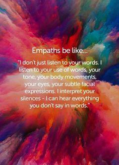 #empath #empathessentials | Empath traits, Intuitive empath, Empath