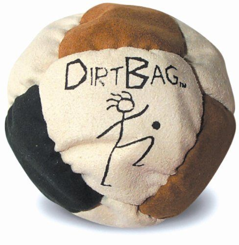 World Footbag Association 711 Dirt Bag Footbag by World Footbag Association. $6.99. World Footbag Association 711 Dirt Bag FootbagWorld Footbag Association 711 Dirt Bag Footbag Features:; Made from extremely soft and durable eight-panel syntheticsuede ; Filled with grains of sand from Mother Earth! ; Weight of the sand makes it the ideal footbag for alllevels