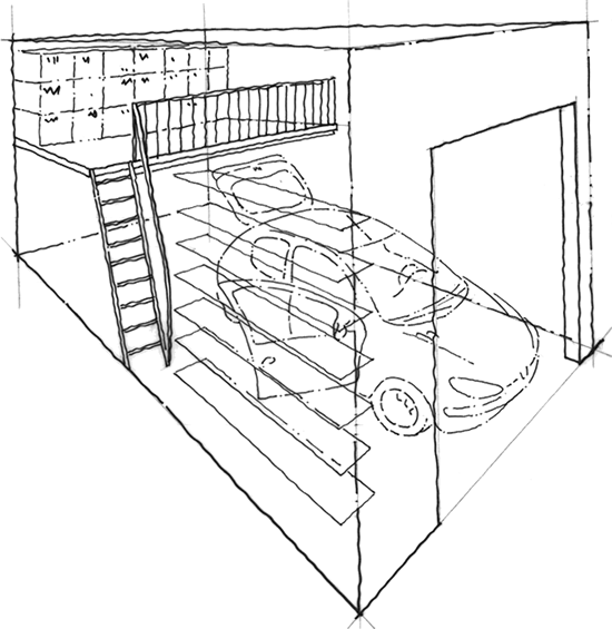 Garage mezzanine plan perfect for the patch my home for Garage mezzanine plans