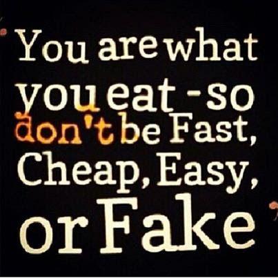 u r what u eat