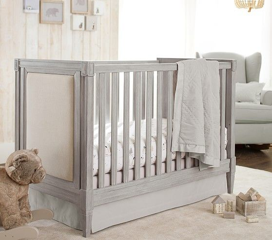 Graham Crib In 2020 Pottery Barn Crib Cribs Wood Nursery
