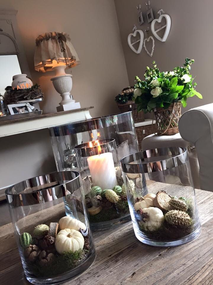 Double hurricanes interieur interieur herfst en decoratie for Decoratie herfst