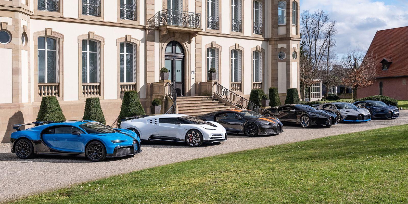 La familia Bugatti: una imagen que vale más de 30 millones de euros