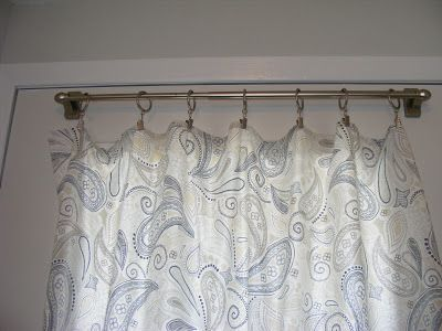 magnetic curtain rod DIY by MRC: Entryway upgrade: Front ...
