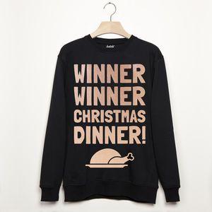 Winner Winner Christmas Dinner Christmas Sweatshirt Jumper 1KejtR