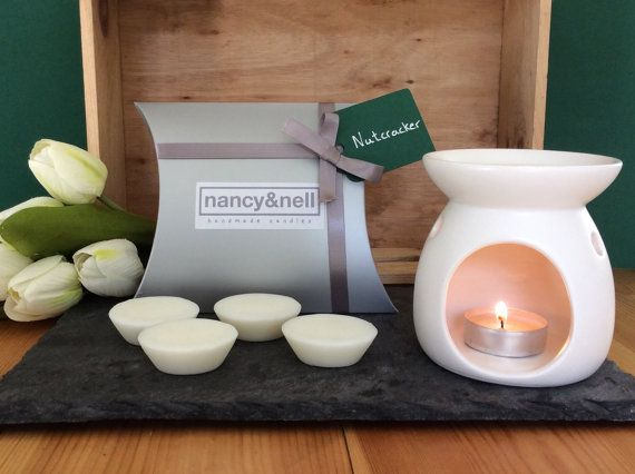 Wax Melts Owlchemy blended beeswax Mulled Wine for wax burners