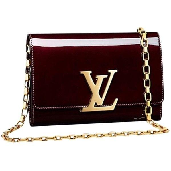 b4eceeef8b7d Pre-owned Louis Vuitton Chain Gm Burgundy Cross Body Bag ( 1