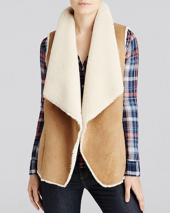 Velvet by Graham & Spencer Faux Sherpa Vest