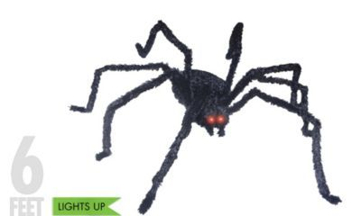Light-Up Giant Spider