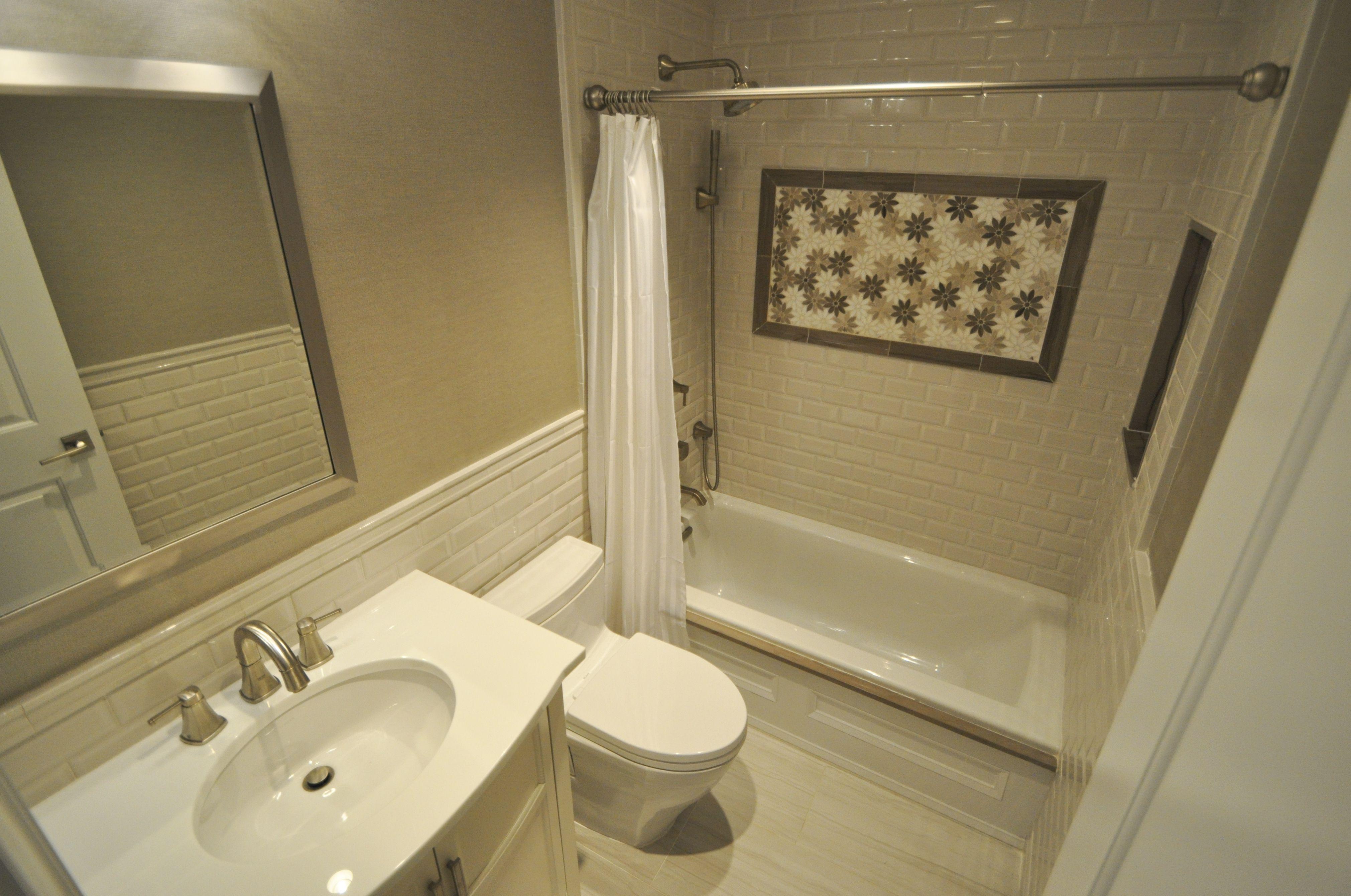 Custom 8x5 Kids Bathroom With Marble Details Marble