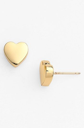 Kate Spade New York Be Mine Heart Stud Earrings Nordstrom