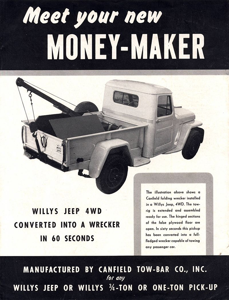 1940s-canfield-wrecker-money-maker-brochure1 | Willys Jeep ...