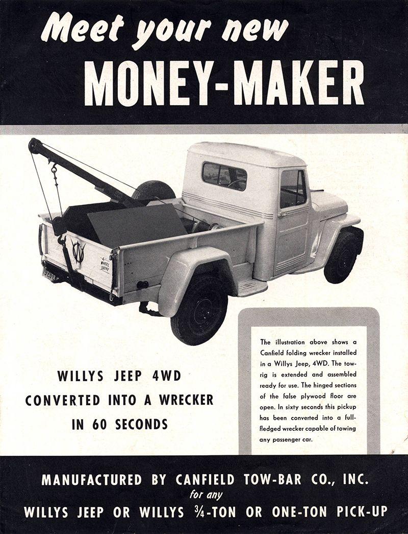 1940s-canfield-wrecker-money-maker-brochure1 | Willys Jeep ...
