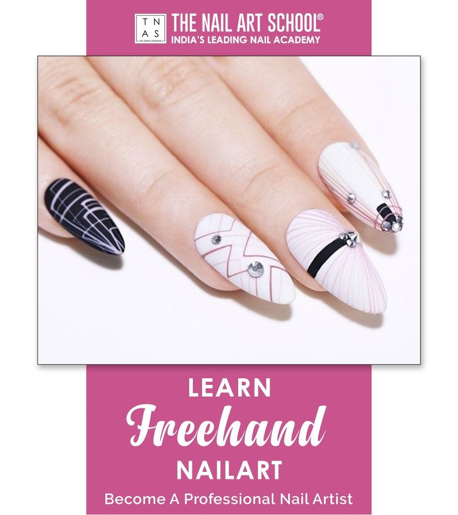 We offer Freehand Nail Art Course which will teach you how to create a range of freehand nail art techniques that can be combined to create stunning Nail Art designs.✨💅  What are you waiting for? Enroll Now!  Academy at - Mumbai   Bengaluru   Kolkata  #FreehandNailArt #NailArtCourses #NailArt #Nails #NailArtDesign #NailTechnicians #nailtrends #LearnNailArt #NailCourse #NailsOfInstagram #NailPro #NailTechnician #NailExtensions #Learn #Enrol #gelpolish #nailpolish #GLAMNailProduct #RNailLounge