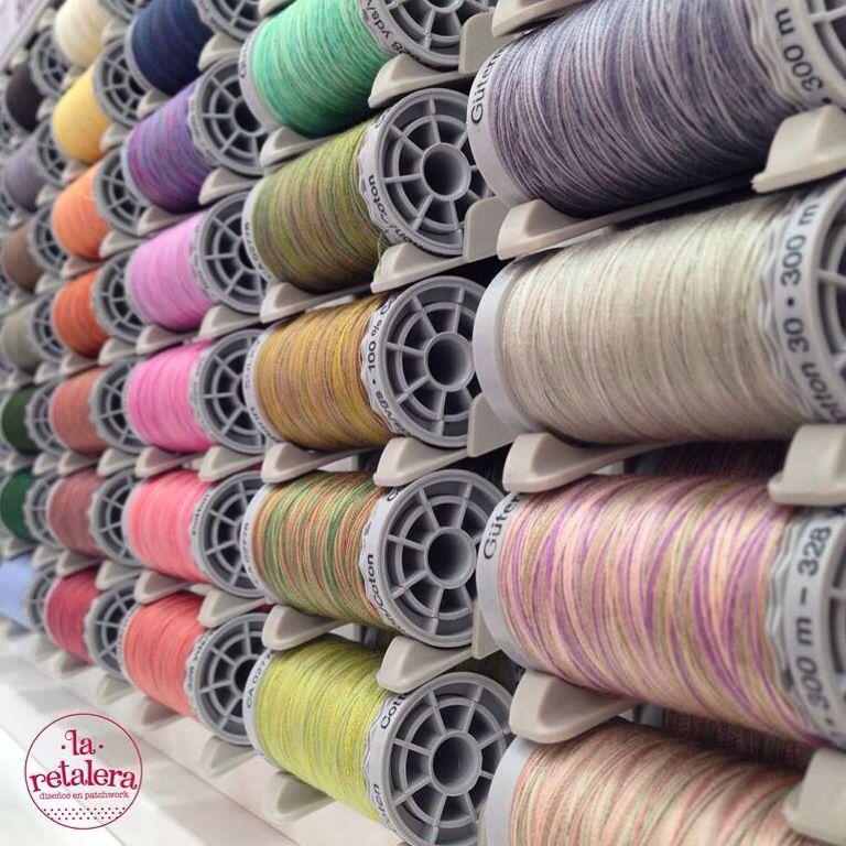 En La Retalera tenemos gran surtido de colores en hilos de algodón ...