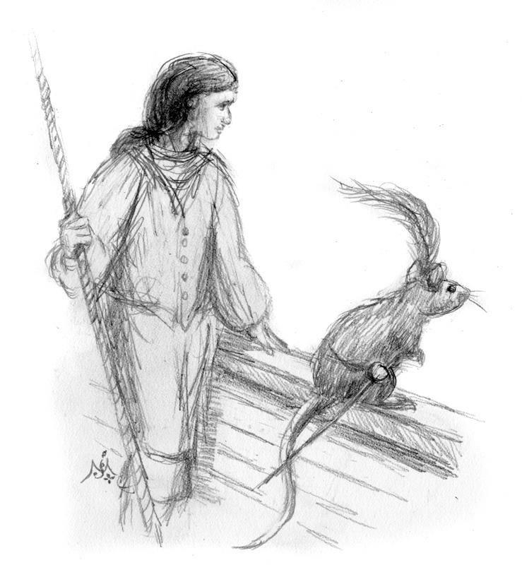 Prince Caspian & Reepicheep\' by Jef Murray | Narnia | Pinterest