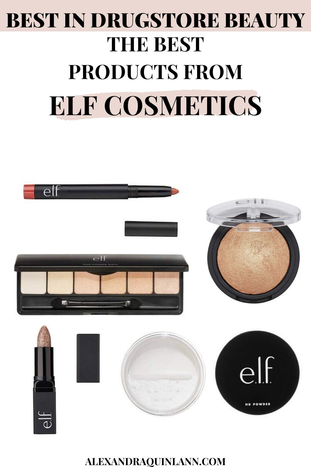 The Best Drugstore Makeup The best elf Cosmetics Products