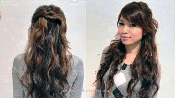 Cute Easy Hairstyles for Wavy Hair | Easy hairstyles, Wavy hair and ...