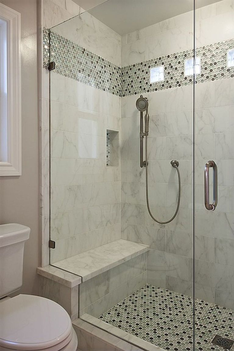 40 Beautiful Bathroom Shower Tile Design Ideas And Makeover 4