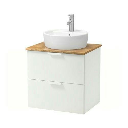Mueble y encimera de bambú Ikea 184€