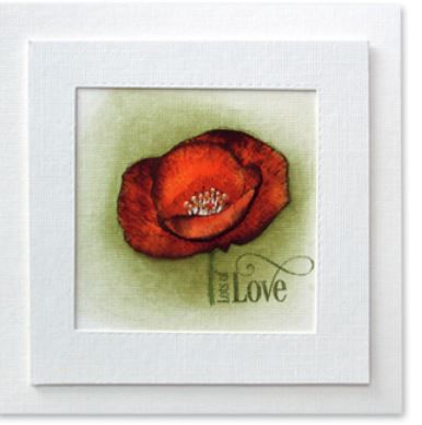 Penny Black - Clear Stamp - Love Art
