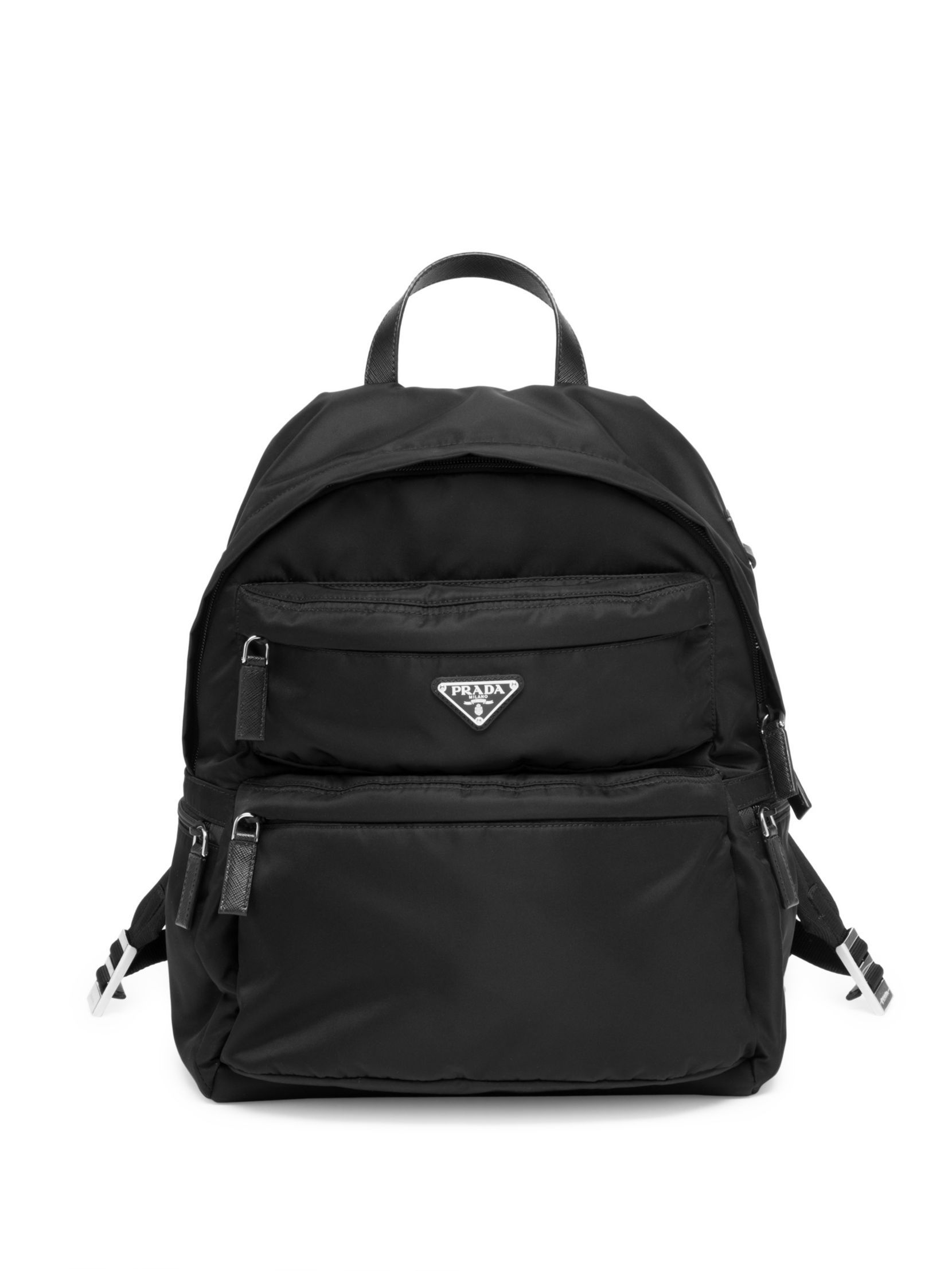 df6535390654 Prada Tessuto Montagna Backpack Saks Fifth Avenue Sale, Men's Backpack,  Black Backpack, Prada