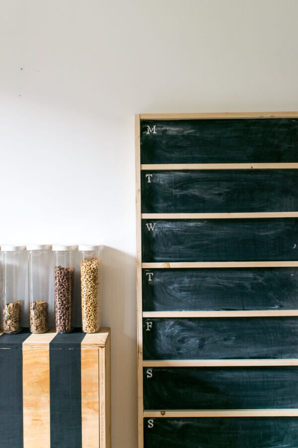 How to Make a DIY Chalkboard Menu (without using power ...