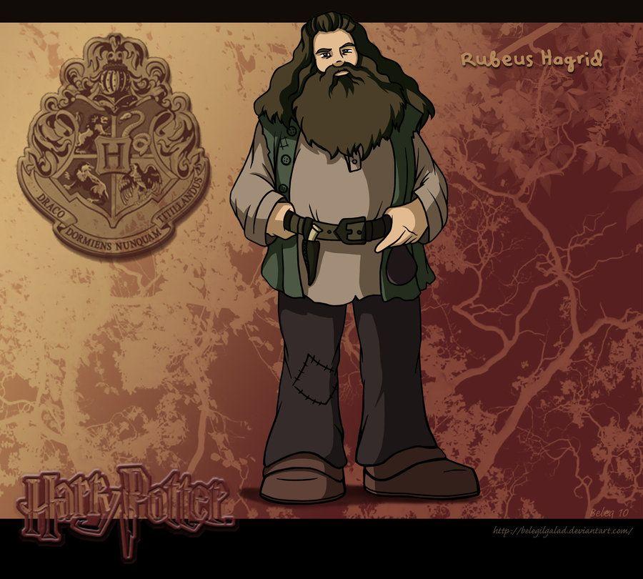 Rubeus Hagrid by on