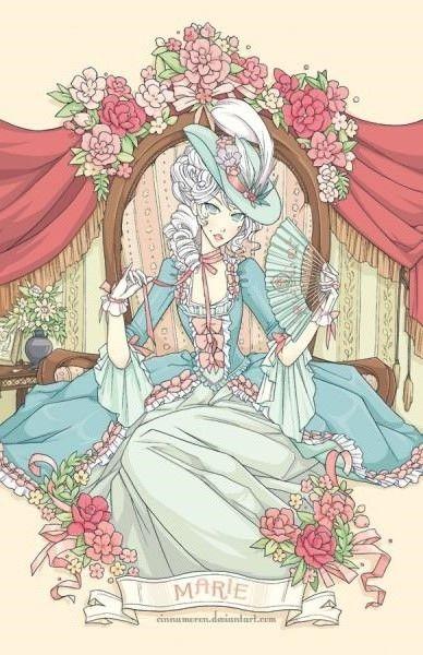 Marie By Cinnamoron Con Imagenes Dibujos Ilustraciones