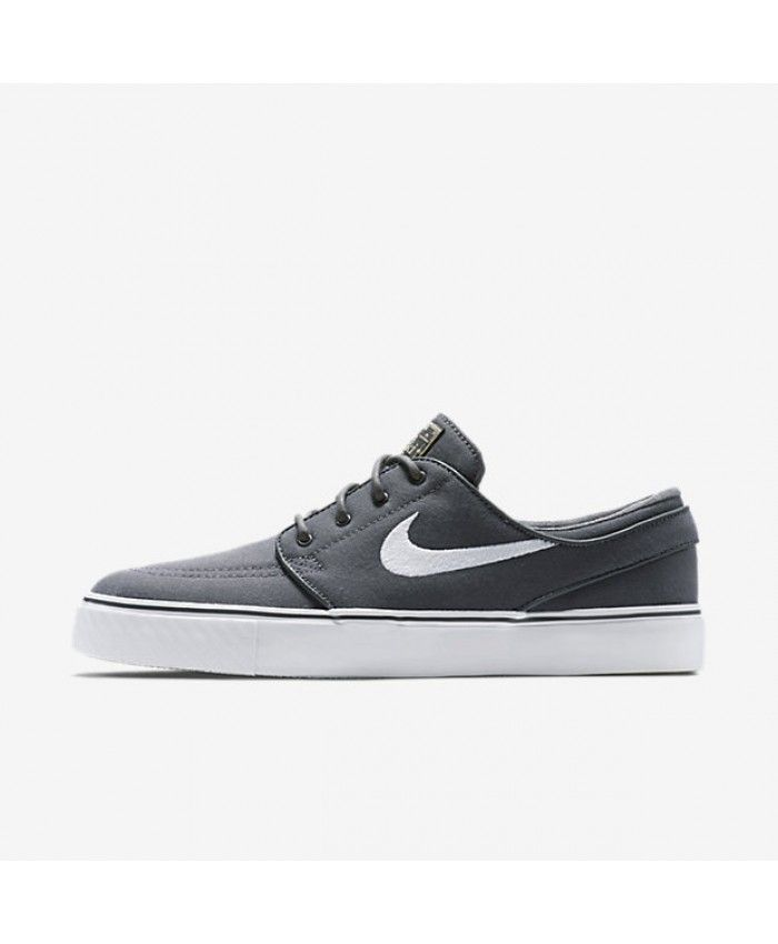 best service d03ca b0f24 Nike SB Zoom Stefan Janoski Canvas Dark Grey Gum Light Brown Metallic Gold  Star White 615957-027