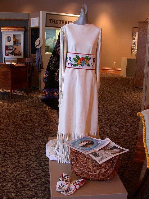 native american wedding dressprairie renaissance, via flickr