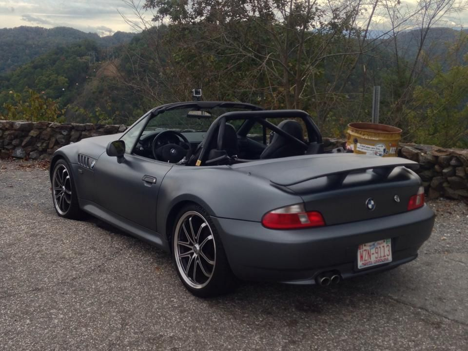 Bmw Z3 Matte Grey Bmw Roadsters Coupes Bmw Bmw Z3 Coupe