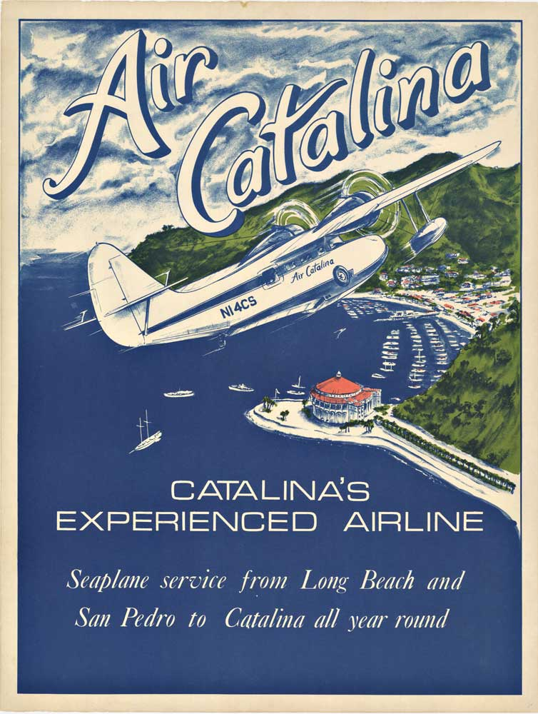 Gary Miltimore AIR CATALINA Tropical travel, Catalina