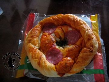 Japak // Tokio - undefinierbares zum Frühstück. Pizza like nur ganz anders :D