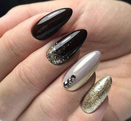 70 ideas nails art cute matte for 2019  purple glitter