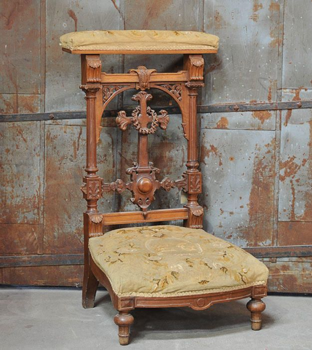 French Prie Dieu, Prayer Chair, 20