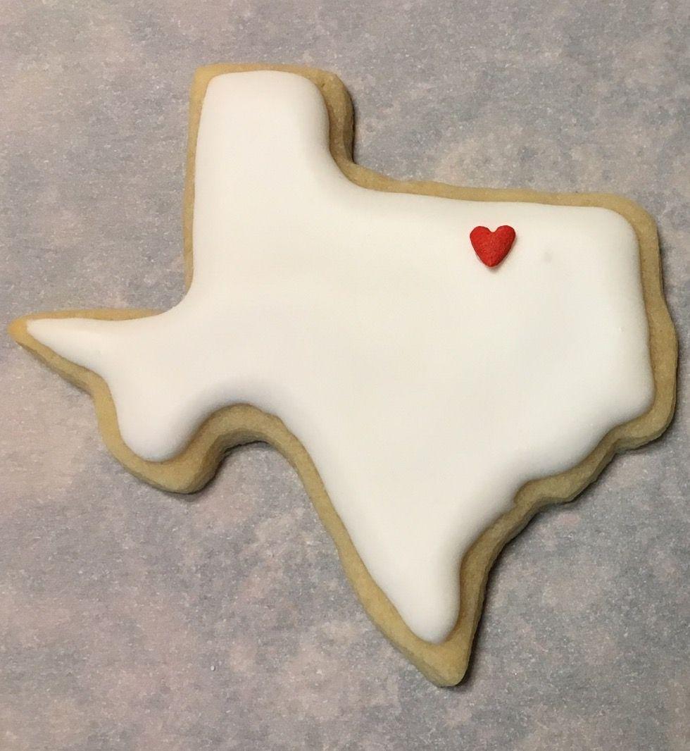 Texas cookie cookies bakery sugar cookie