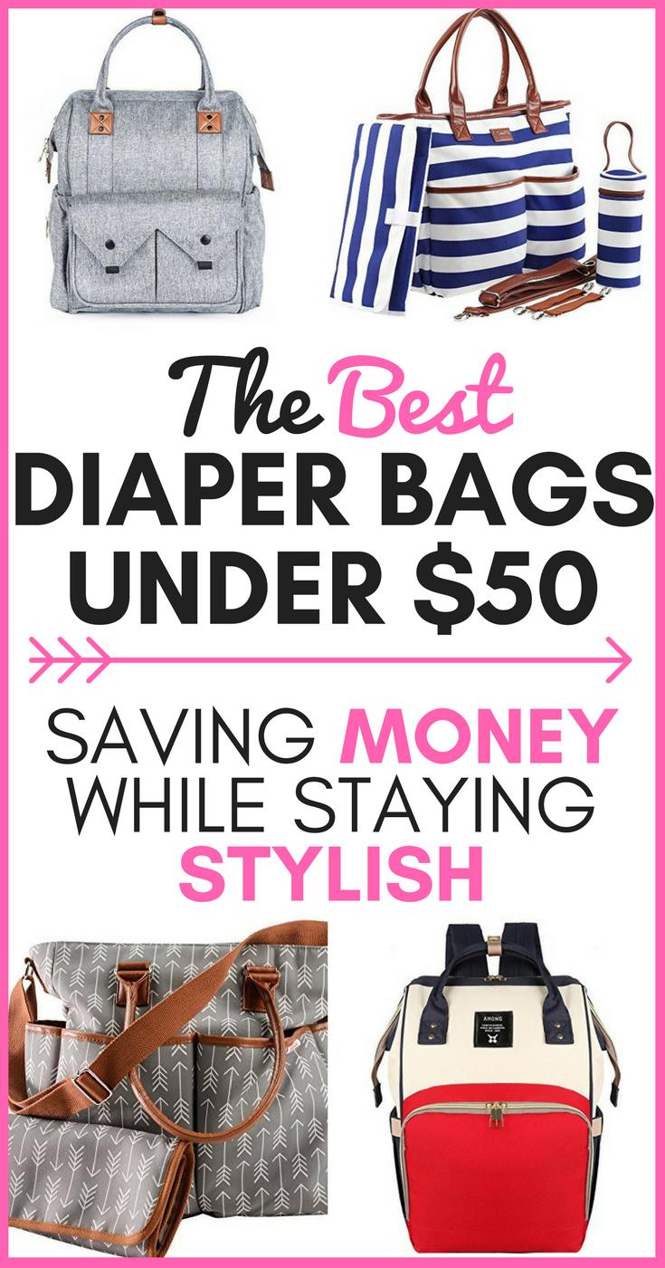 Best Diaper Bags Under 50 Saving