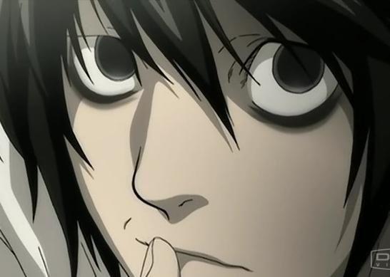 תוצאת תמונה עבור anime thinking face L