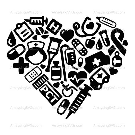 Svg  Pct Medical Icon Heart  Instant Download This Patient Care